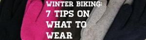 Winter Biking Gear What To Wear